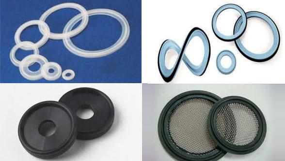 Tri-Clover Gaskets, Ami Polymer