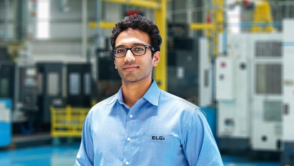 Green Manufacturing Practices at ELGi