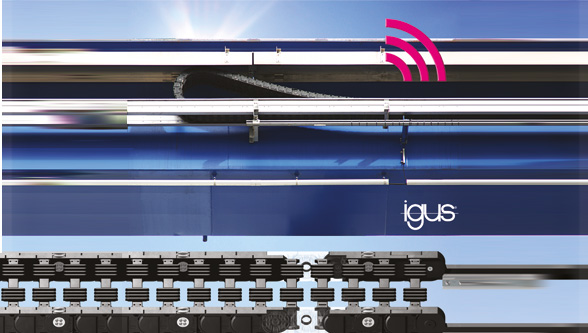 Igus Introduces P4.1 Roller Chain for Crane and Gantry Use