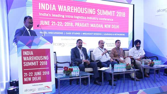 The 8th India Warehousing Show ended on a high note cementing its position as a market leader