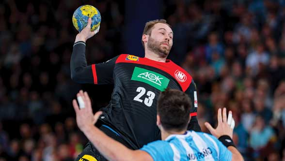 HARTING supports the national Handball team of Germany