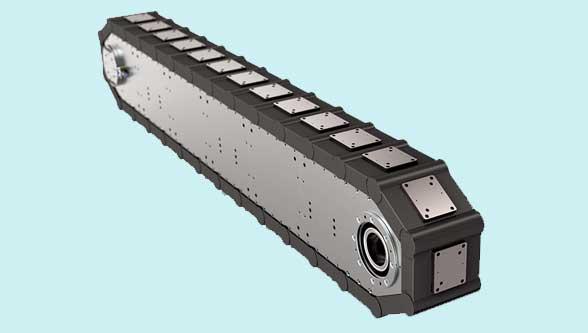 High precision link conveyors