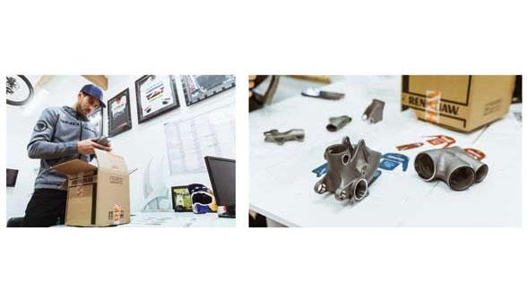 Renishaw helps Atherton producing titanium lugs