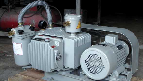 Rotary vane Oil Lubricated Vacuum Pumps