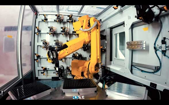 Robotics for the cutting tools industry