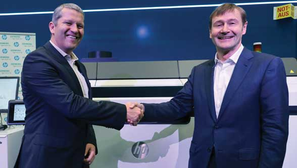 HP & Siemens Deepen Additive Manufacturing Alliance