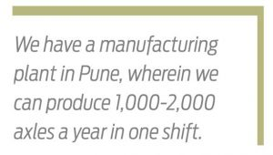 Global Expertise in Axle Manufacturing