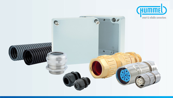 Hummel India - Cable Glands & Protection,Circular Connectors