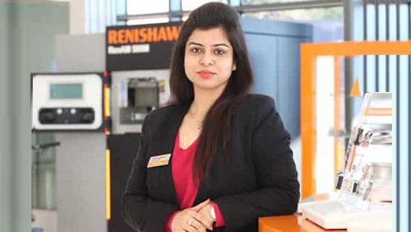 Ms. Samina Khalid, Marketing Expert, Renishaw