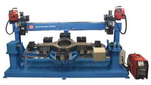 Axle Welding Automation setup from ADOR
