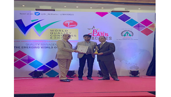 SHIV OM BRASS : Global Awards For Excellence In Quality Management And Leadership