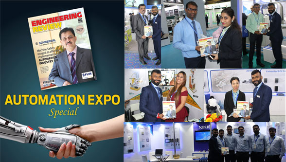 Engineering Review makes its mark at the Automation Expo 2019