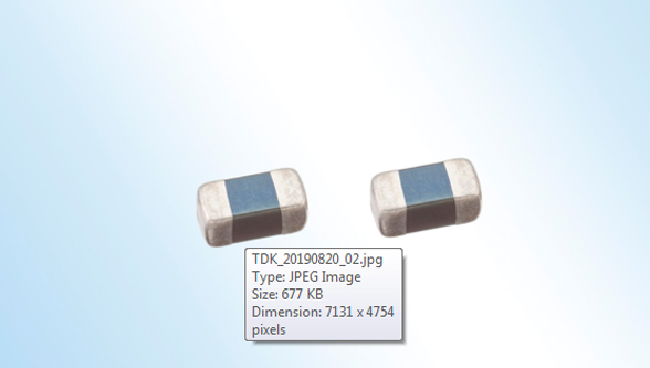 TDK Corporation releases miniaturized multilayer varistors for automotive Ethernet