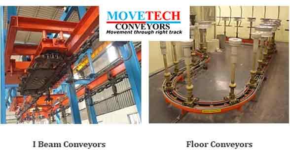Movetech I beam & floor conveyors