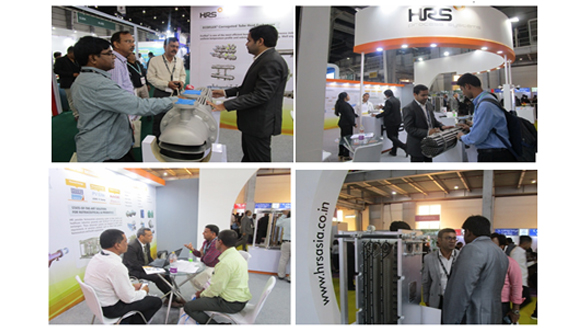 HRS PSL exhibits energy efficient heat transfer solutions for pharmaceutical industry