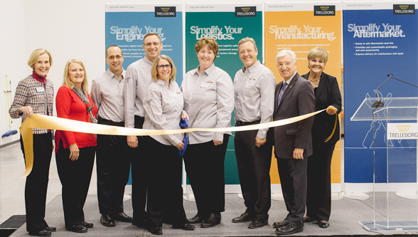 Trelleborg celebrated the opening of its new service center for sealing solutions