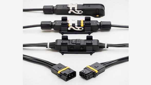 New range of rectangular plastic connectors