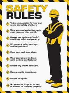 electrical safety rules