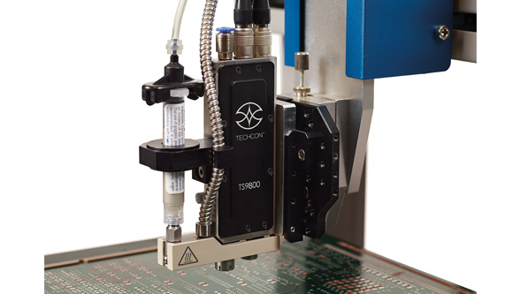 Electronics manufacturing with new jet valve