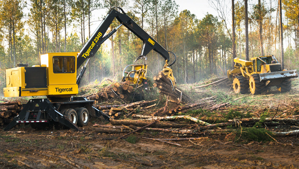 Automated workpiece boosts forestry equipments