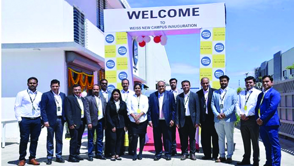 Weiss GmbH inaugurates new campus in Pune