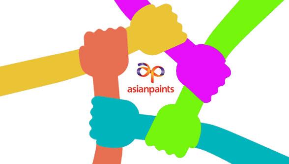Asian Paints supports painters & contractors