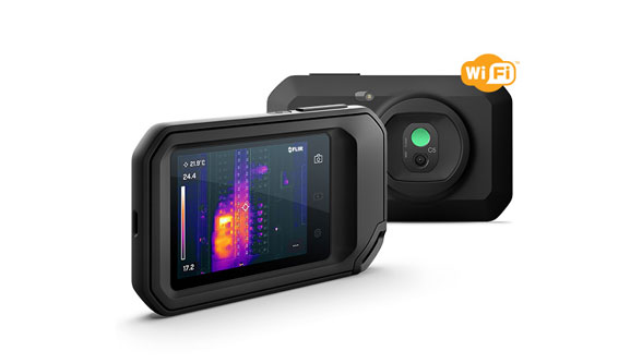 FLIR's new thermal camera with cloud connectivity