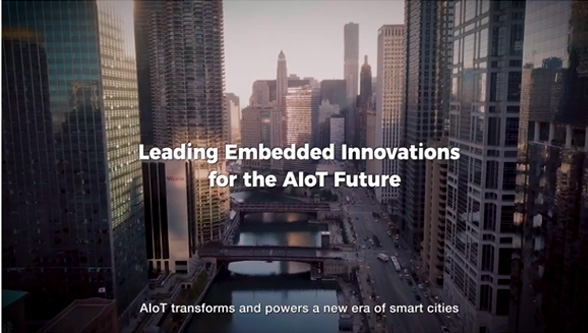 Advantech embedded innovations to AIoT future