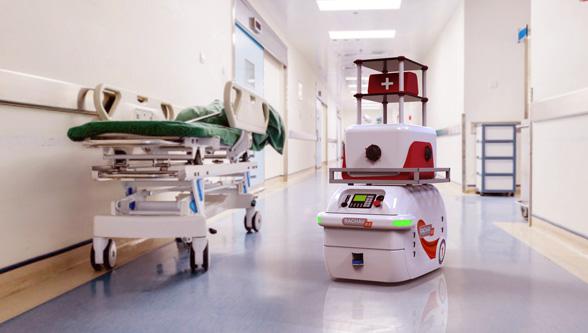 RAGHAV - Robot in Healthcare