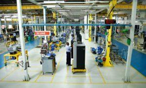 Manufacturing line of elgi compressor