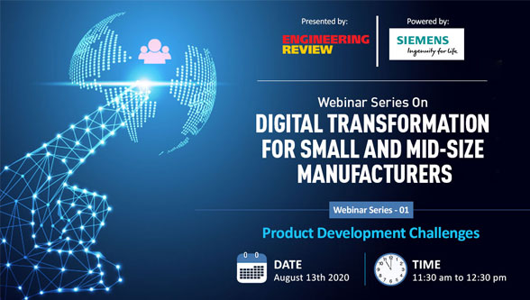 Webinar Series On Digital Transformation for Small & Mid-size Manufacturers