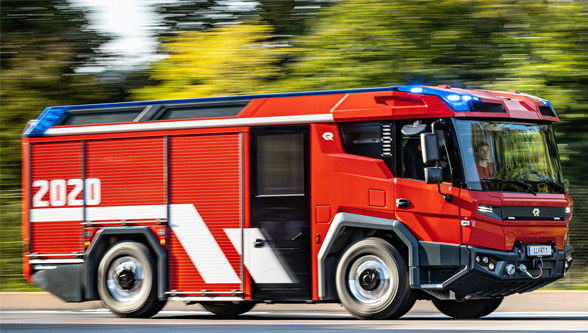 Revolutionary Volvo Penta-powered electric fire trucks launched