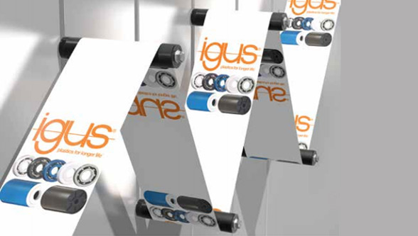 New xiros film guide roller for labeling technology
